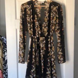 WAYF Wrap Dress